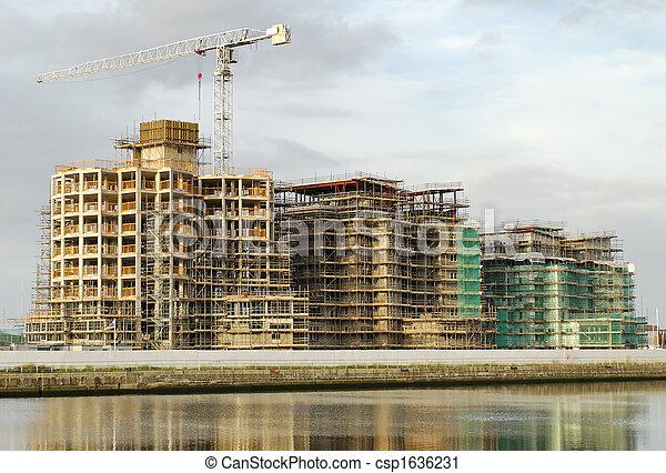 marina construction 01 - csp1636231