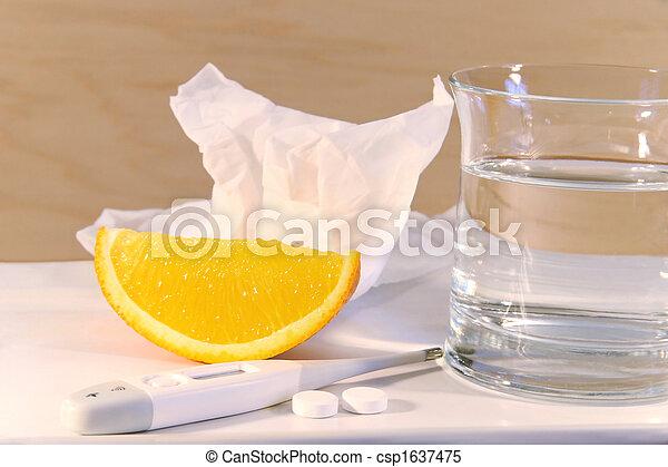 Vitamin C to fight a cold