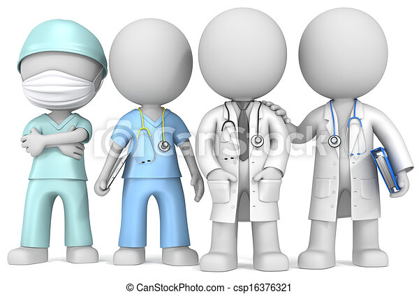 Group Of Doctors Clipart Doctors and Nurse