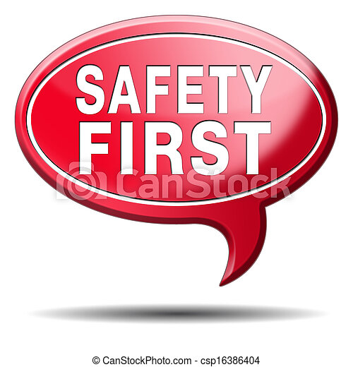 säkerhet, första - csp16386404