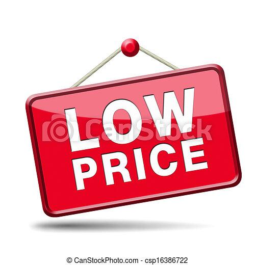 Lowest Price Icon Low Price Icon Csp16386722