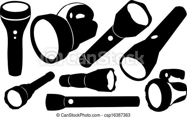 Flashlight Illustrations and Clip Art. 5,529 Flashlight royalty ...