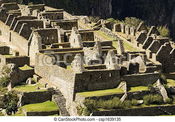 Machu Picchu - csp1639135