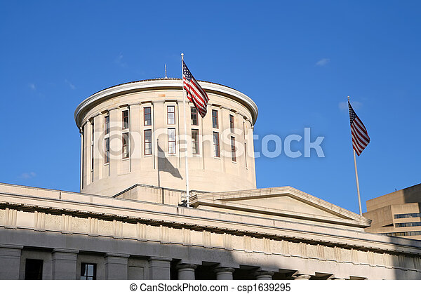 Ohio Statehouse Dome - csp1639295