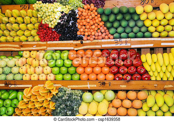 Photo tha fruit stand image images photo libre de for Stand de fruits ikea