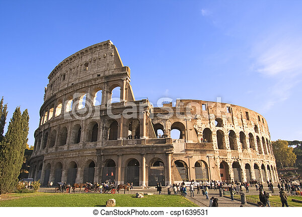 Colosseum Wide Angle - csp1639531