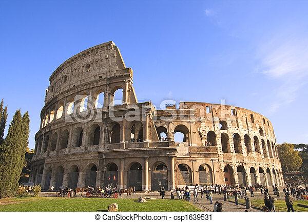 Colosseum Wide Angle - csp1639531