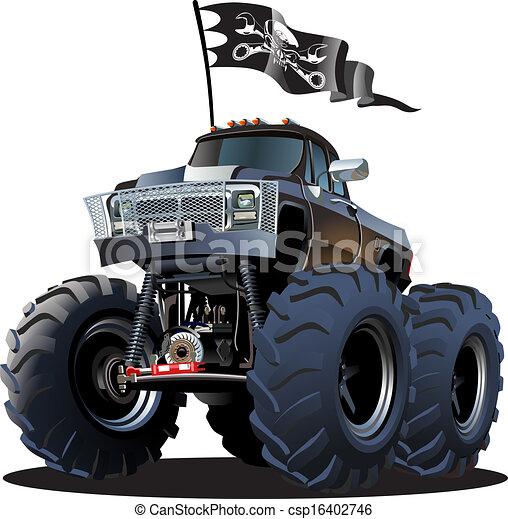 Monster Trucks Kid Friendly Cartoon