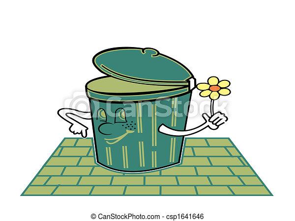 Trash can - csp1641646