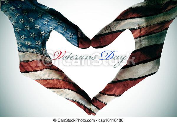 veterans day - csp16418486