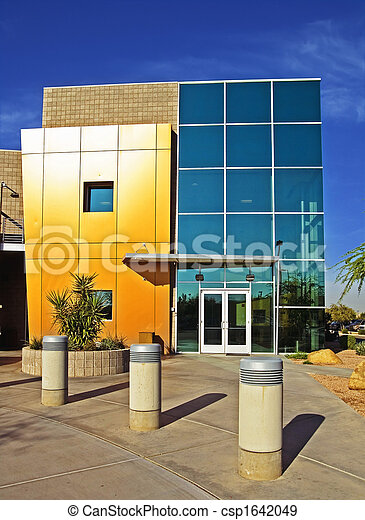 Modern commercial building - csp1642049