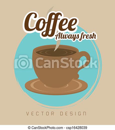 coffee design - csp16428039