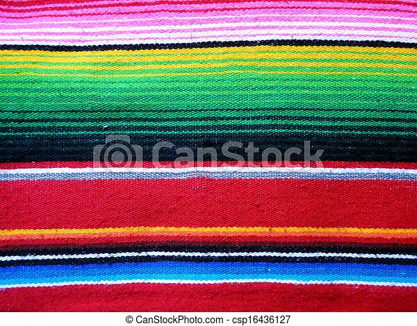 Mexicano, poncho - csp16436127