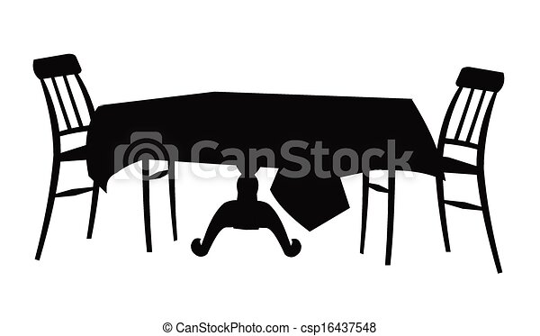 Dining Room Vector Dining Room Table And