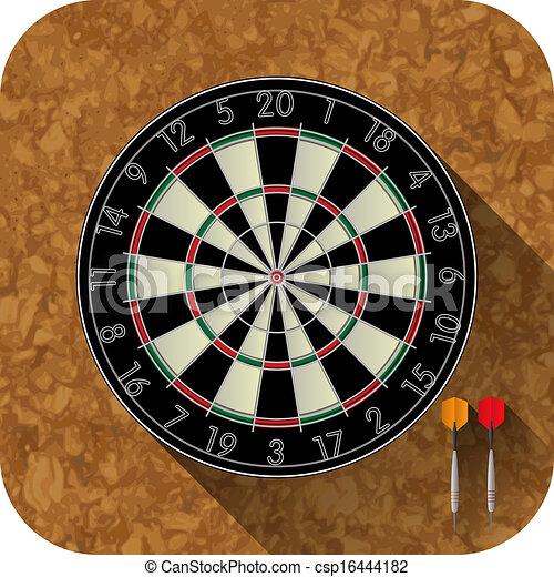 dart board vector clip art eps images. 1,999 dart board clipart