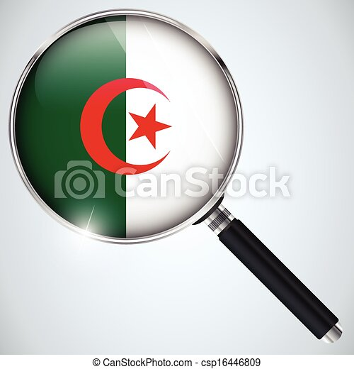 NSA USA Government Spy Program Country Algeria - csp16446809