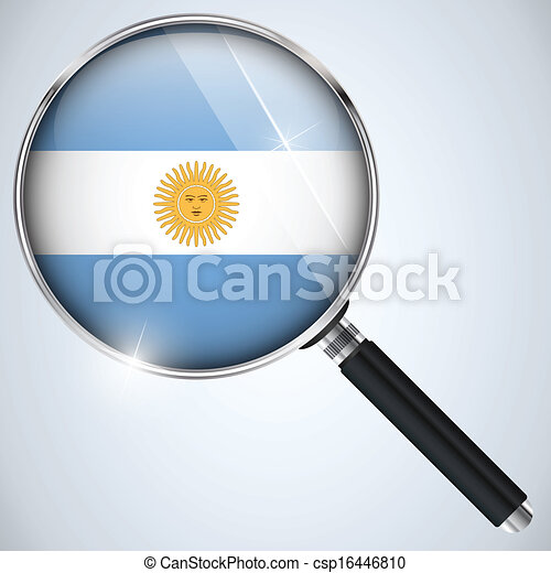 NSA USA Government Spy Program Country Argentina - csp16446810