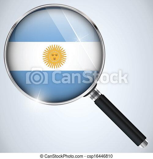NSA USA Government Spy Program Country Argentina - csp16446810