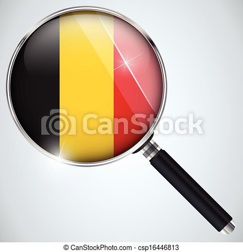 NSA USA Government Spy Program Country Belgium - csp16446813