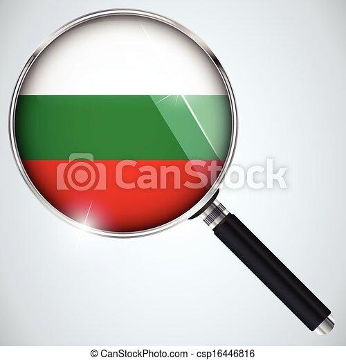 NSA USA Government Spy Program Country Bulgaria - csp16446816