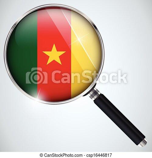 NSA USA Government Spy Program Country Cameroon - csp16446817