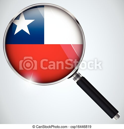 NSA USA Government Spy Program Country Chile - csp16446819