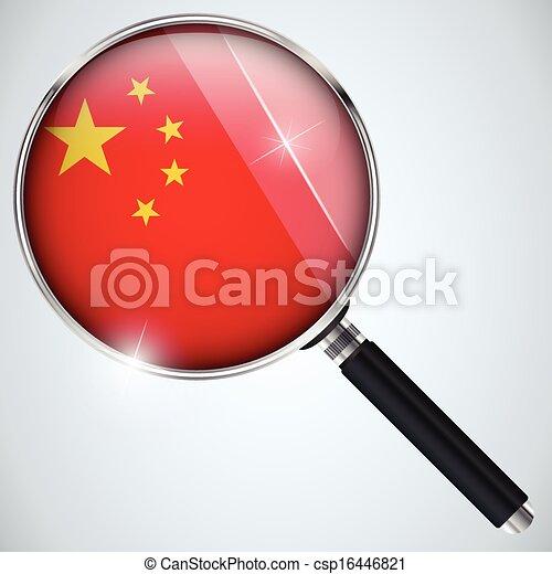 NSA USA Government Spy Program Country China - csp16446821