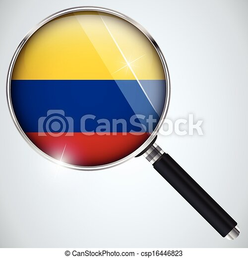 NSA USA Government Spy Program Country Colombia - csp16446823