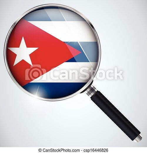 NSA USA Government Spy Program Country Cuba - csp16446826
