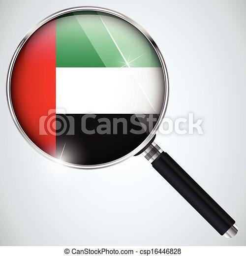 NSA USA Government Spy Program Country Emirates - csp16446828