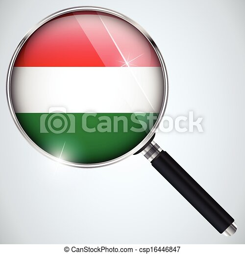 NSA USA Government Spy Program Country Hungary - csp16446847