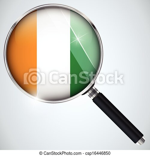 NSA USA Government Spy Program Country Ireland - csp16446850