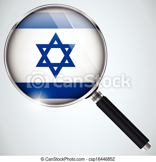 NSA USA Government Spy Program Country Israel - csp16446852