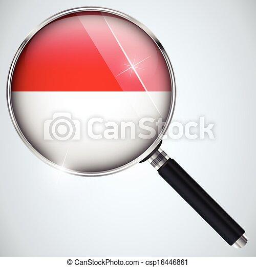 NSA USA Government Spy Program Country Monaco - csp16446861