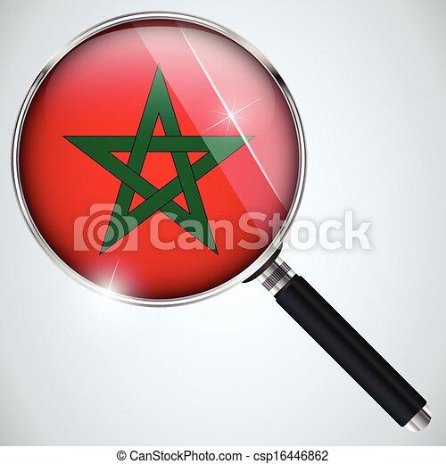 NSA USA Government Spy Program Country Morocco - csp16446862