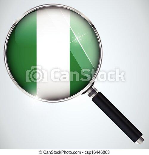 NSA USA Government Spy Program Country Nigeria - csp16446863