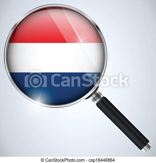 NSA USA Government Spy Program Country Netherlands - csp16446864
