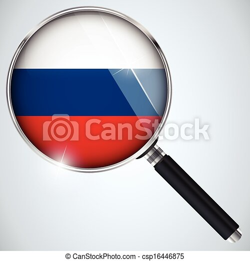 NSA USA Government Spy Program Country Russia - csp16446875