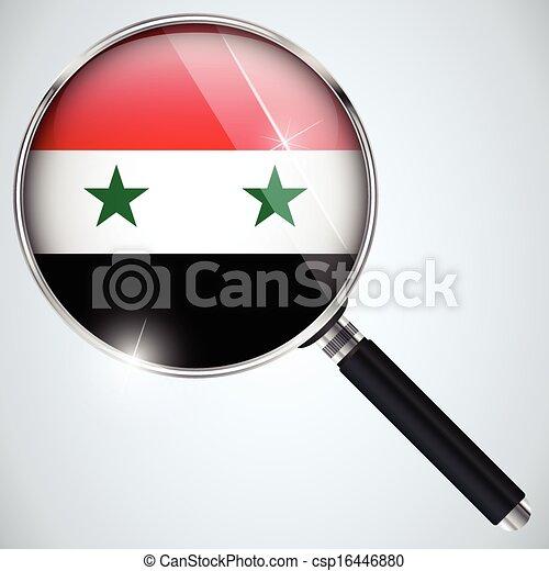 NSA USA Government Spy Program Country Syria - csp16446880
