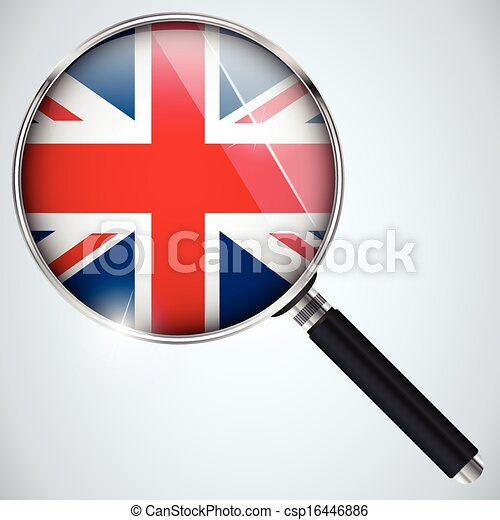 NSA USA Government Spy Program Country UK - csp16446886