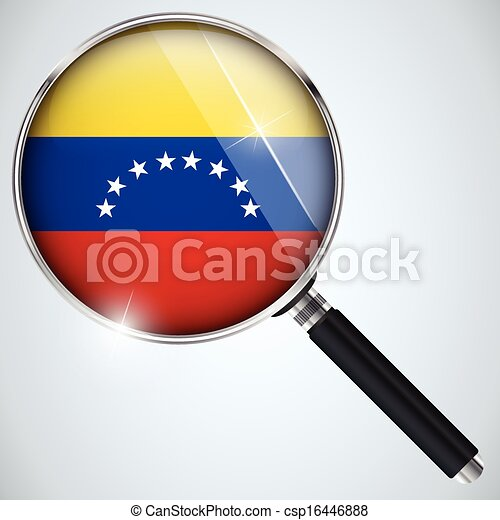 NSA USA Government Spy Program Country Venezuela - csp16446888