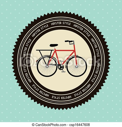 bicycle design - csp16447608