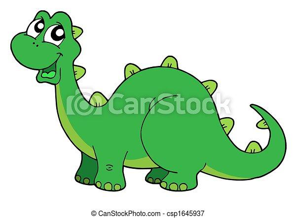 Cute dinosaur - csp1645937