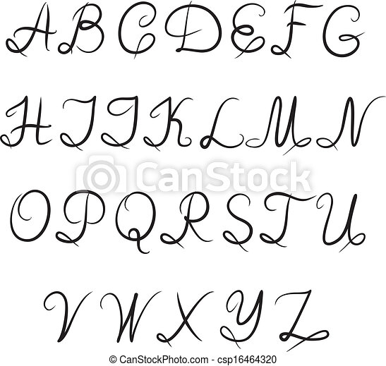 Old School Ways To Sign Letters