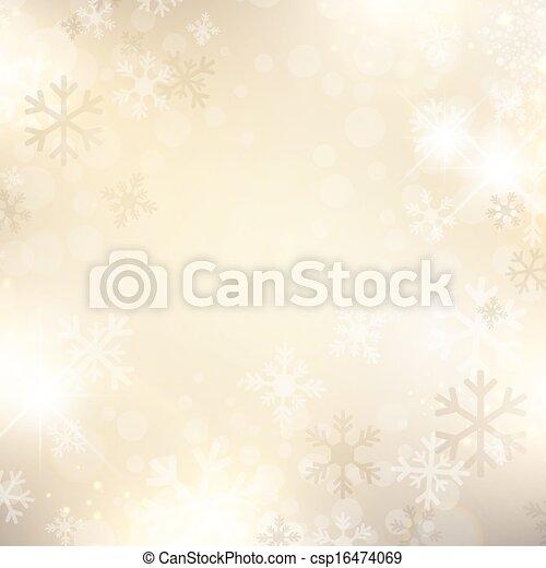 Snowflake Background - csp16474069