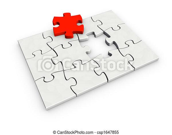 incomplete puzzle - csp1647855