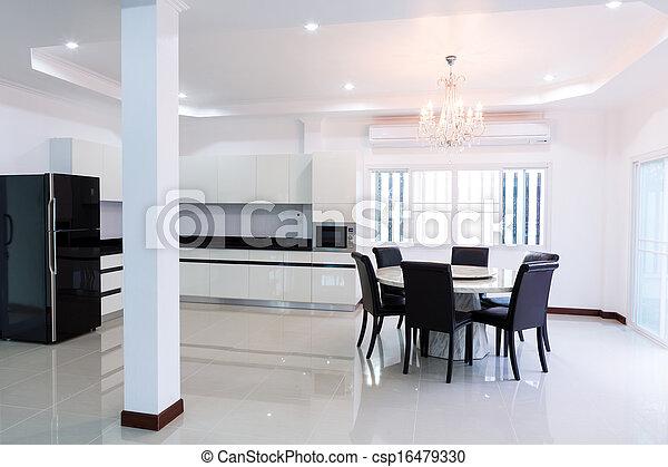 Stock fotos von inneneinrichtung haus leerer modern for Haus inneneinrichtung