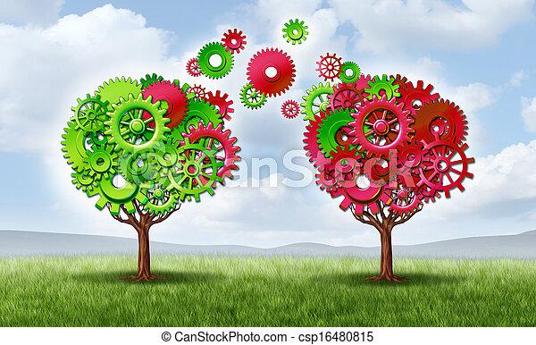 Communication Exchange Partnership - csp16480815