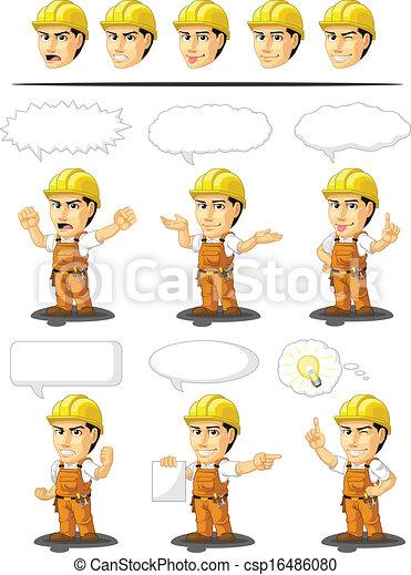 Industrial Construction Worker Cust - csp16486080