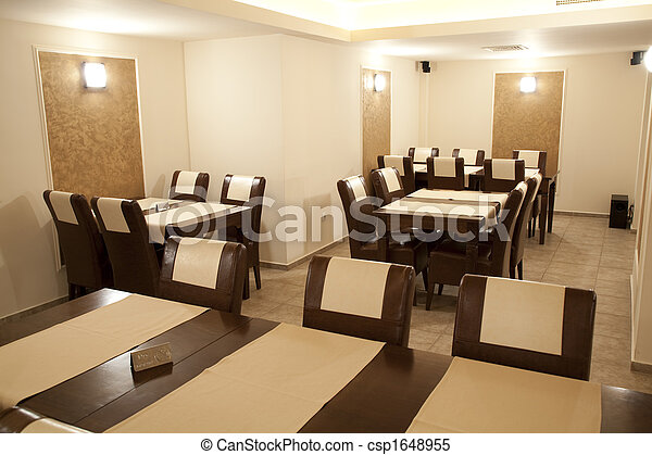 Banco de imagens de restaurante modernos restaurante for Planos de restaurantes modernos